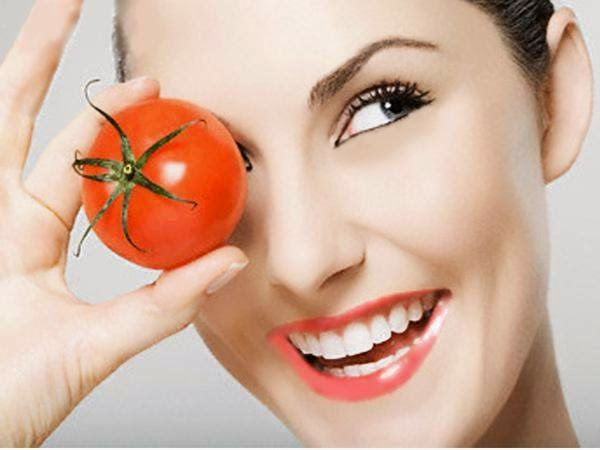 Eradicate Acne with vegetables Tomato