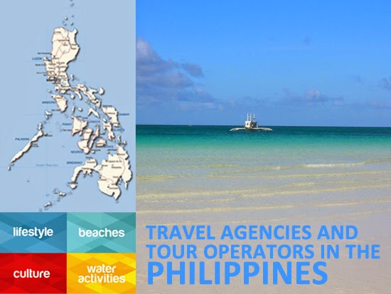 LIST OF TRAVEL AGENCIES AND TOUR OPERATORS IN THE PHILIPPINES