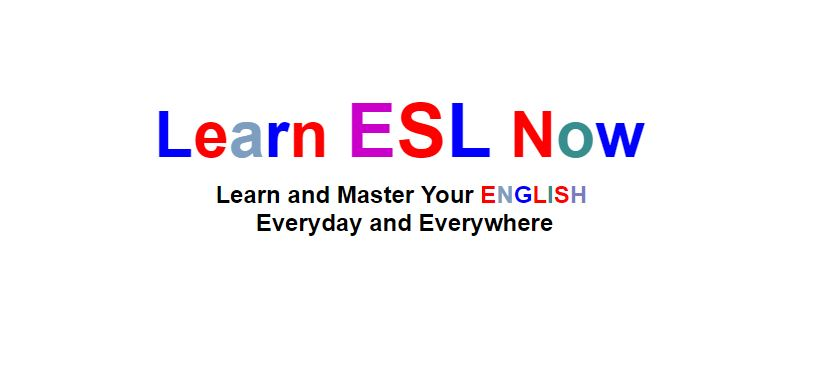 Learn ESL Now