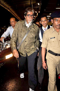 R Madhavan and Amitabh Bachchan snapped at the Airport
