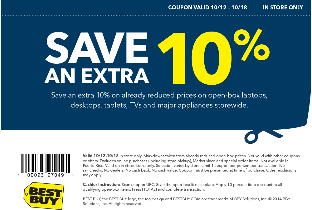 Discover a Best Buy promo code and blow-out sales on HP computers, Samsung smart phones, 4K HDTVs and more! Plus, save even more with deals like free shipping on select orders.4/5(46).