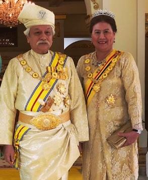Yang Di Pertuan Besar dan Tunku Ampuan Besar Negeri Sembilan Darul Khusus.