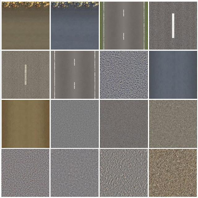 tileable textures -asphalt-roads #3