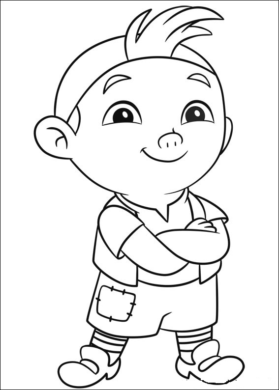 jake coloring pages - fun coloring pages jake and the neverland pirates