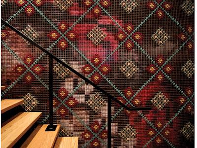 interior of Patria tapas restaurant Toronto Ontario Canada