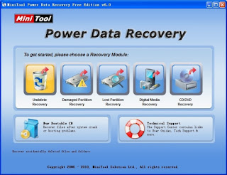 Download MiniTool Power Data Recovery Free Edition 7.0