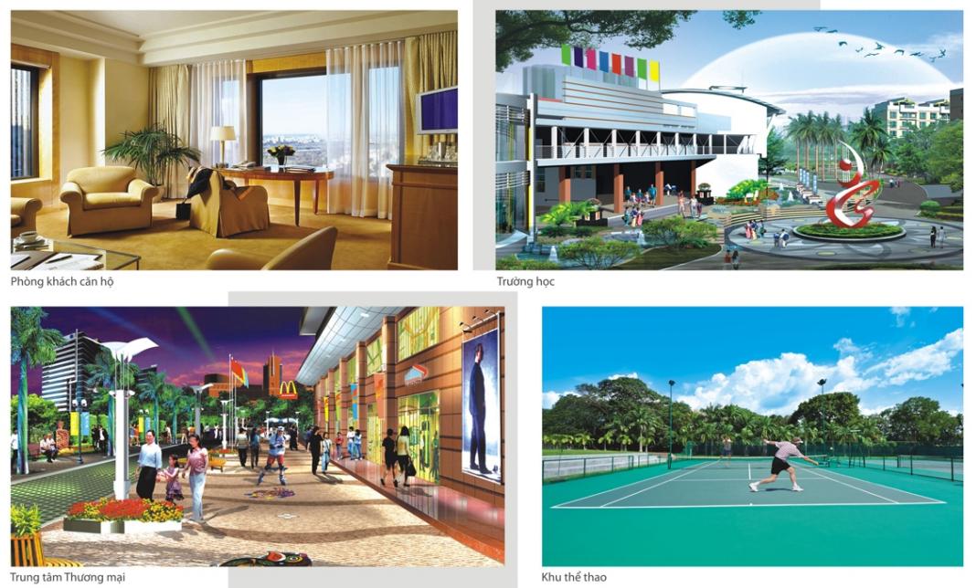 Tiện ích bên trong dự án chung cư CT3 Cổ Nhuế - Hoàng Quốc Việt Residentials