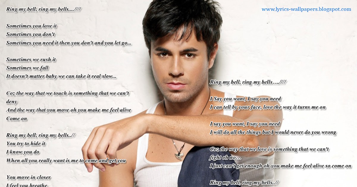 Enrique Iglesias Ring My Bells Mp Song Download
