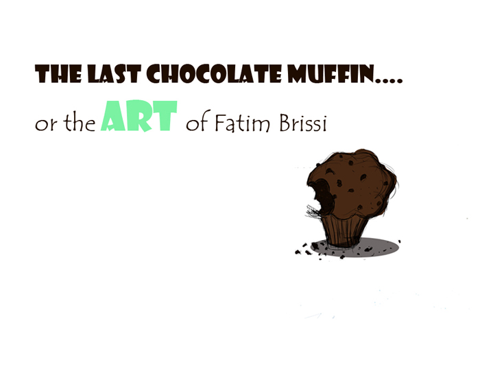 the last chocolate muffin...