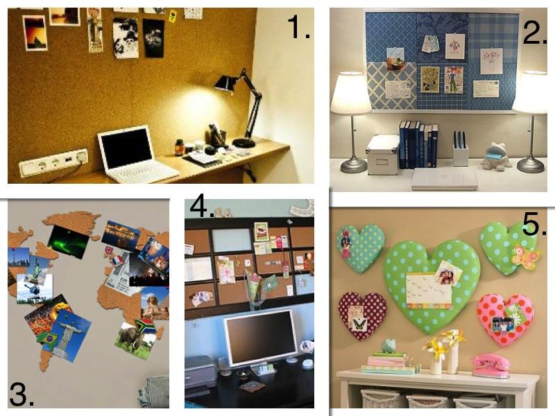 El blog de lorenna corcho para habitaci n o despacho - Pared de corcho ...