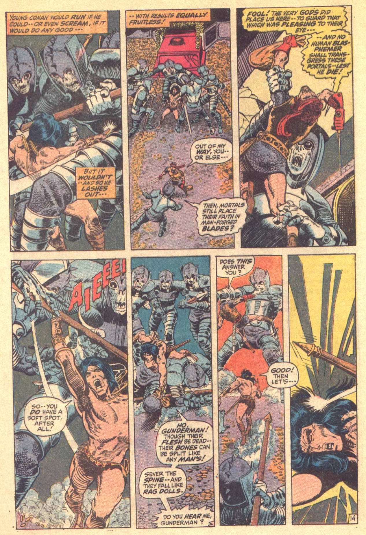 Conan the Barbarian (1970) Issue #8 #20 - English 15