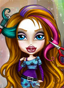 Братц Модные прически - Онлайн игра для девочек