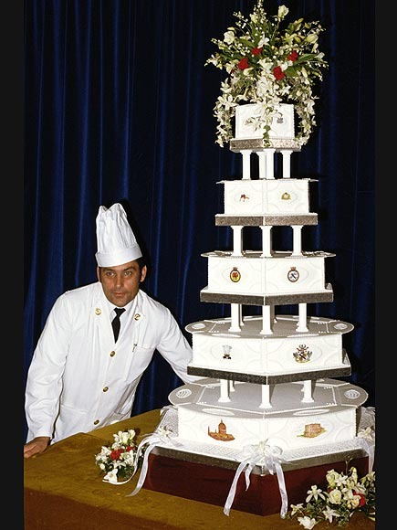 princess diana wedding cake. princess diana wedding cake