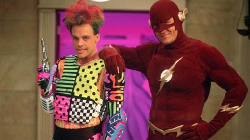 Foto promocional de los 90s con Mark Hamill y John Wesley Shipp