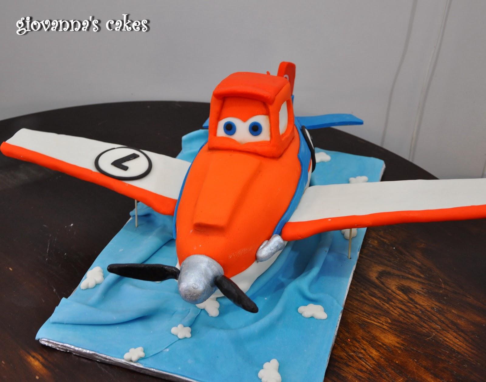 giovannas cakes Dusty the airplane cake