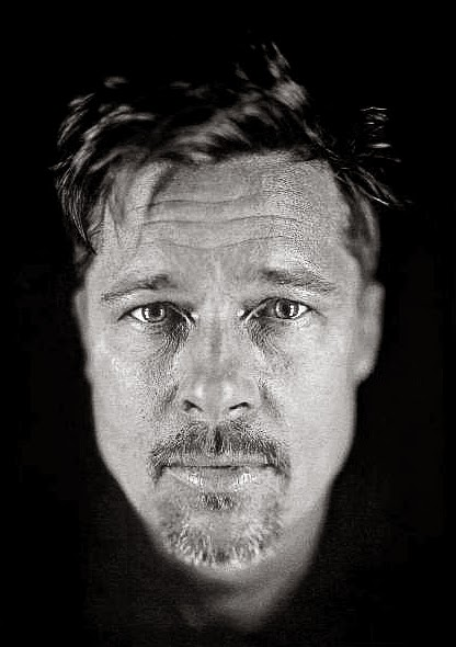 Chuck Close Daguerreotype Photography Brad Pitt