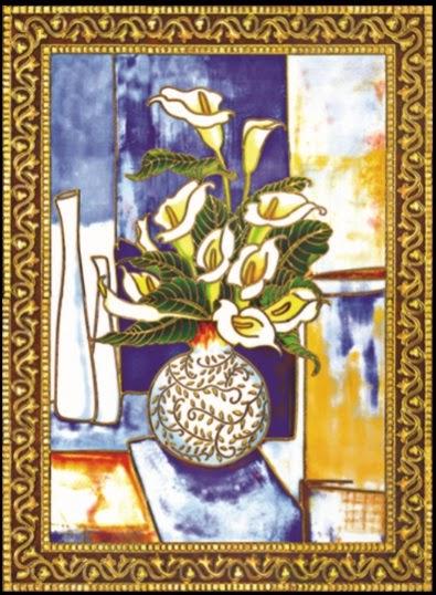 Gạch tranh hoa phong lan giá rẻ