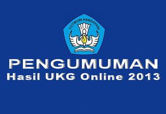 hasil ukg 2013