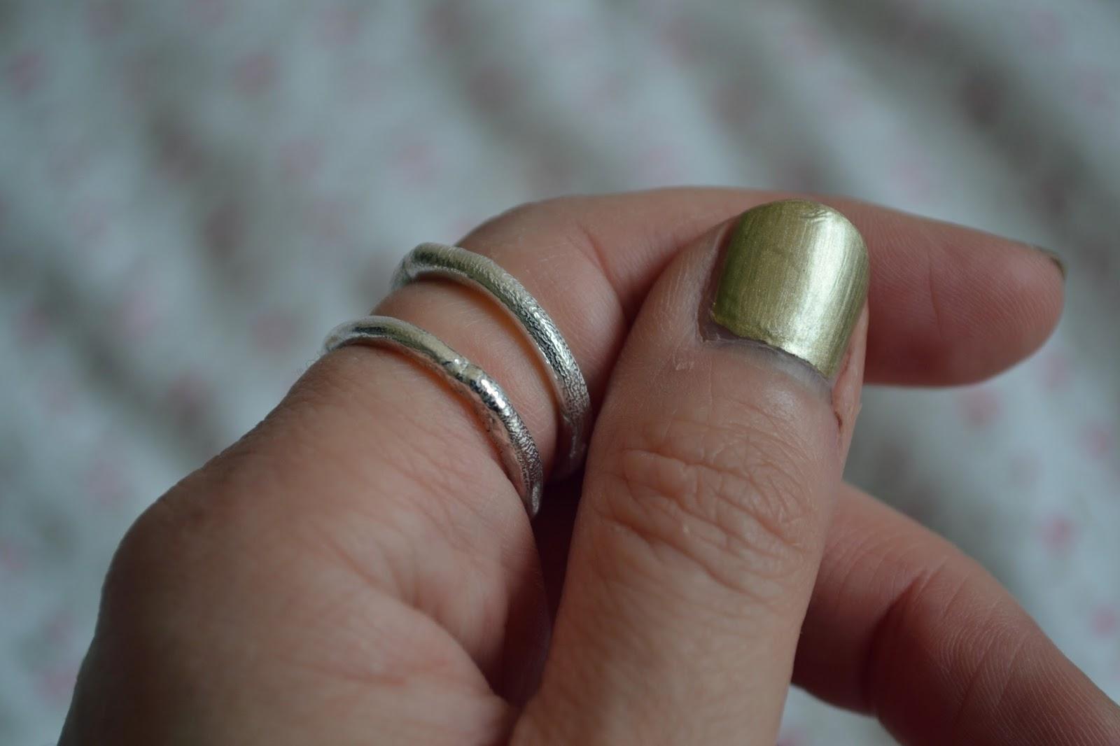 daniella draper silver rings