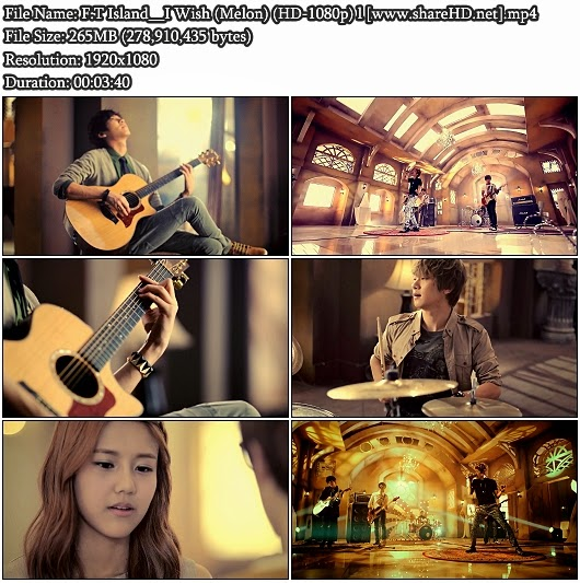 Download MV F.T Island - I Wish (Melon Full HD 1080p)