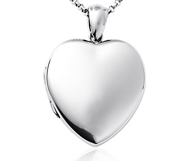 Sterling Silver Bracelet Sweetheart Locket6