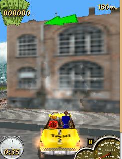 Game đua xe Super Taxi Driver