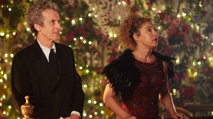 "What was your favourite scene in Doctor Who - ""The Husbands of River Song""?"