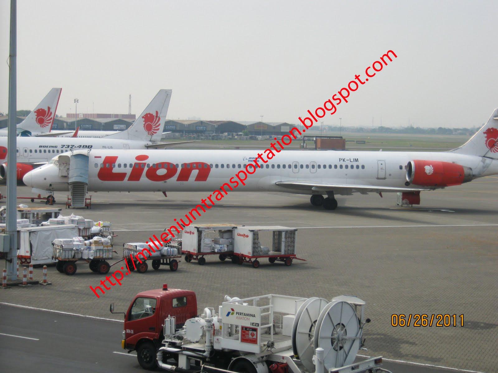 routes map: Lion Air routes map