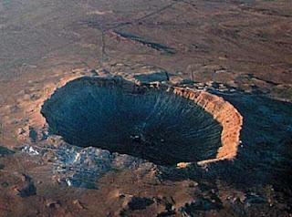 Meteor Crater en Arizona