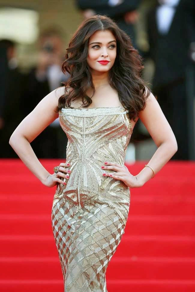 Aishwarya Rai at 67th edition of Cannes film festival in 2014