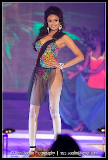 Swimwear at Avirate Miss Sri Lanka 2011