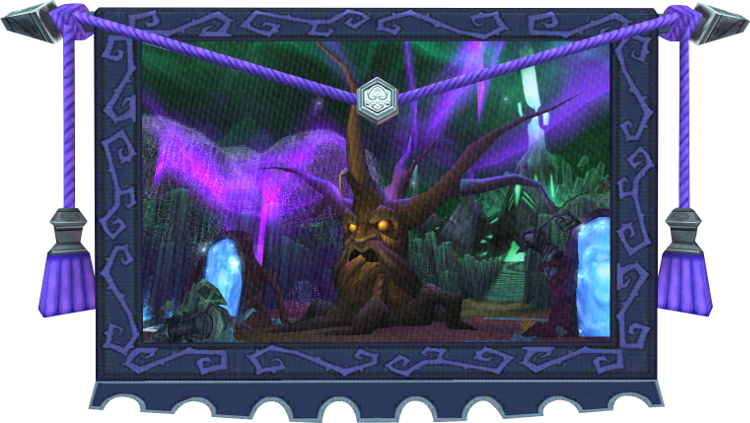Wizard101 Tapestry - Shadow Palace