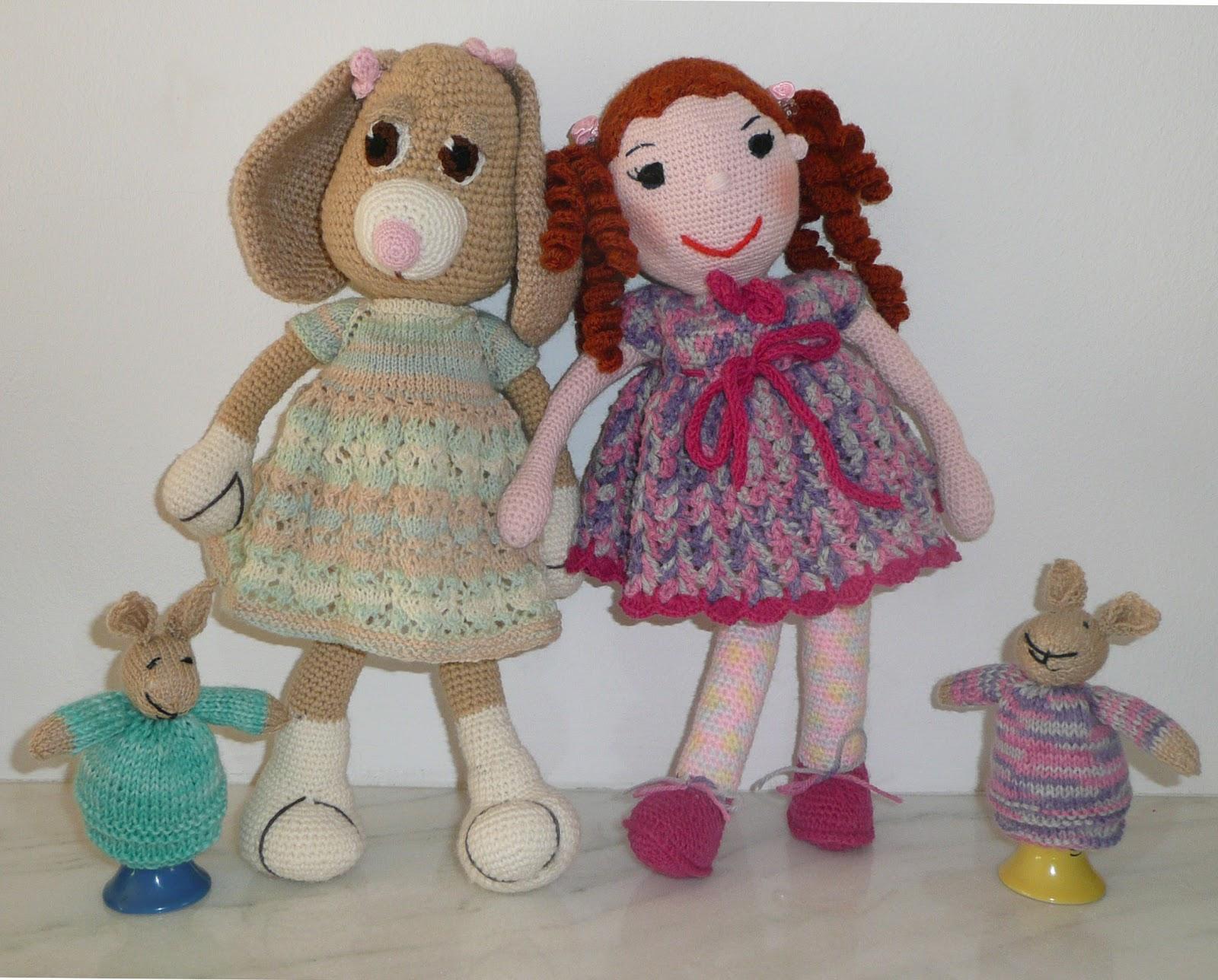 Sa invatam sa crosetam si sa tricotam: papusi tricotate