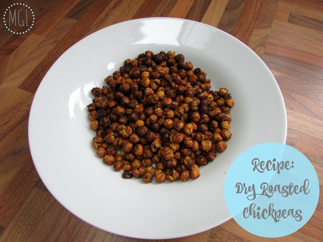My General Life | Recipe | Dry Roasted Chickpeas | Vegan