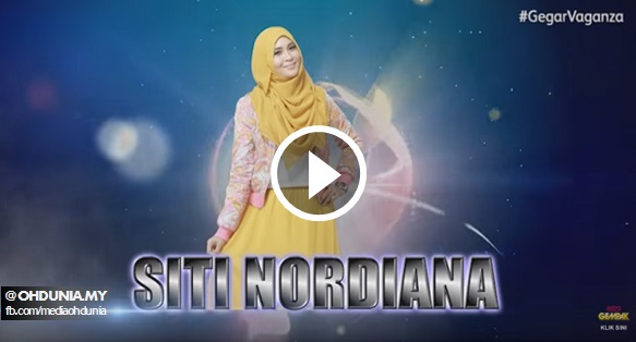Gegar Vaganza 2015 Throwback, The Best Moment of Siti Nordiana