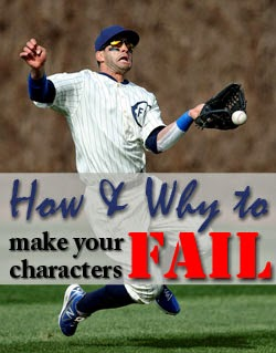 Make characters fail in writing