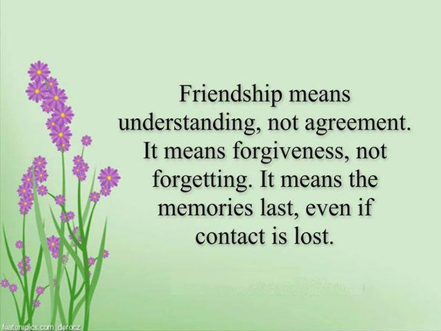 Friend Quotes Understanding : Quot quotes bouquet friendship means understanding not