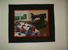 Quilt Picture Piecing patroon Cynthia England