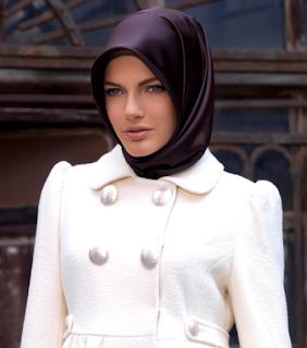 jilbab , memakai , wanita , cara , cantik