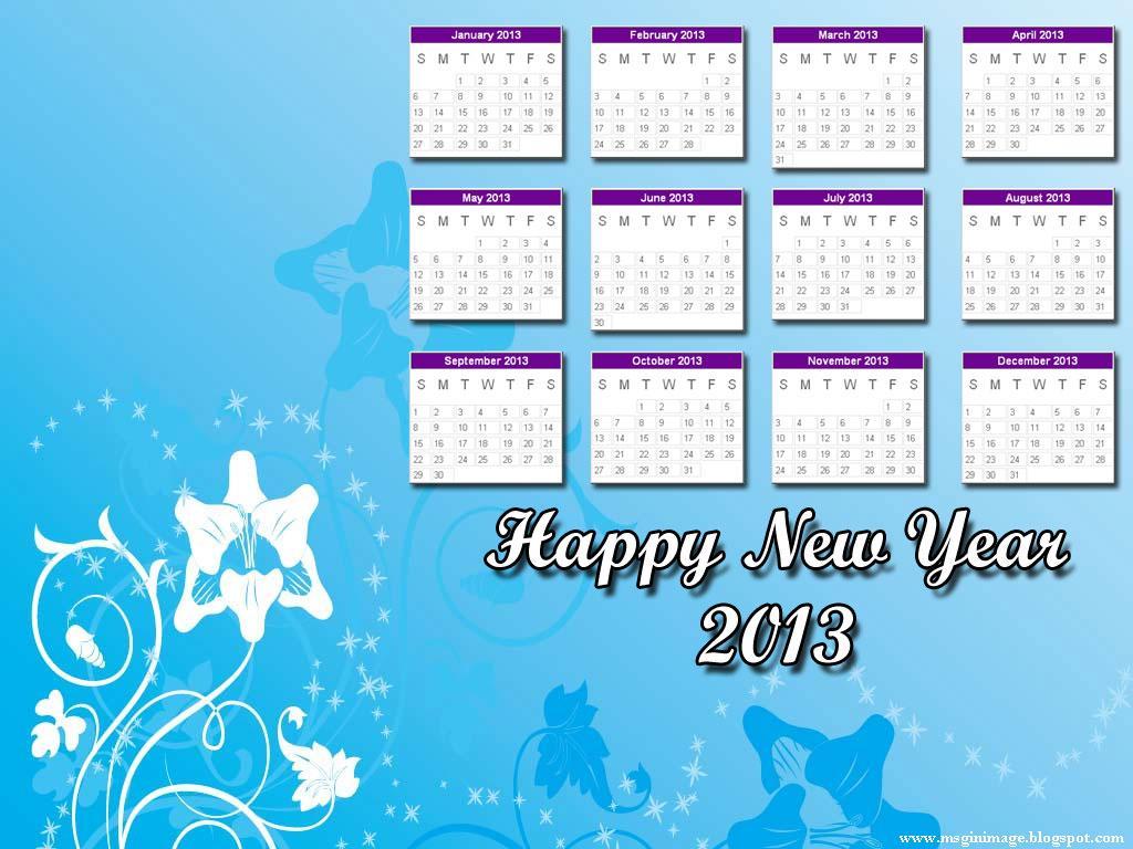 Desktop Calendar 7 : Calender message in image