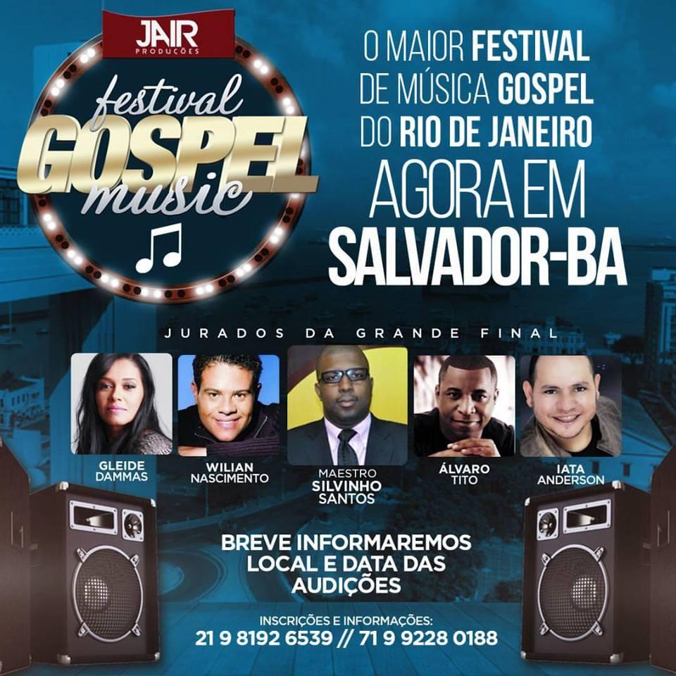 Festival Gospel Music 2017 de Salvador