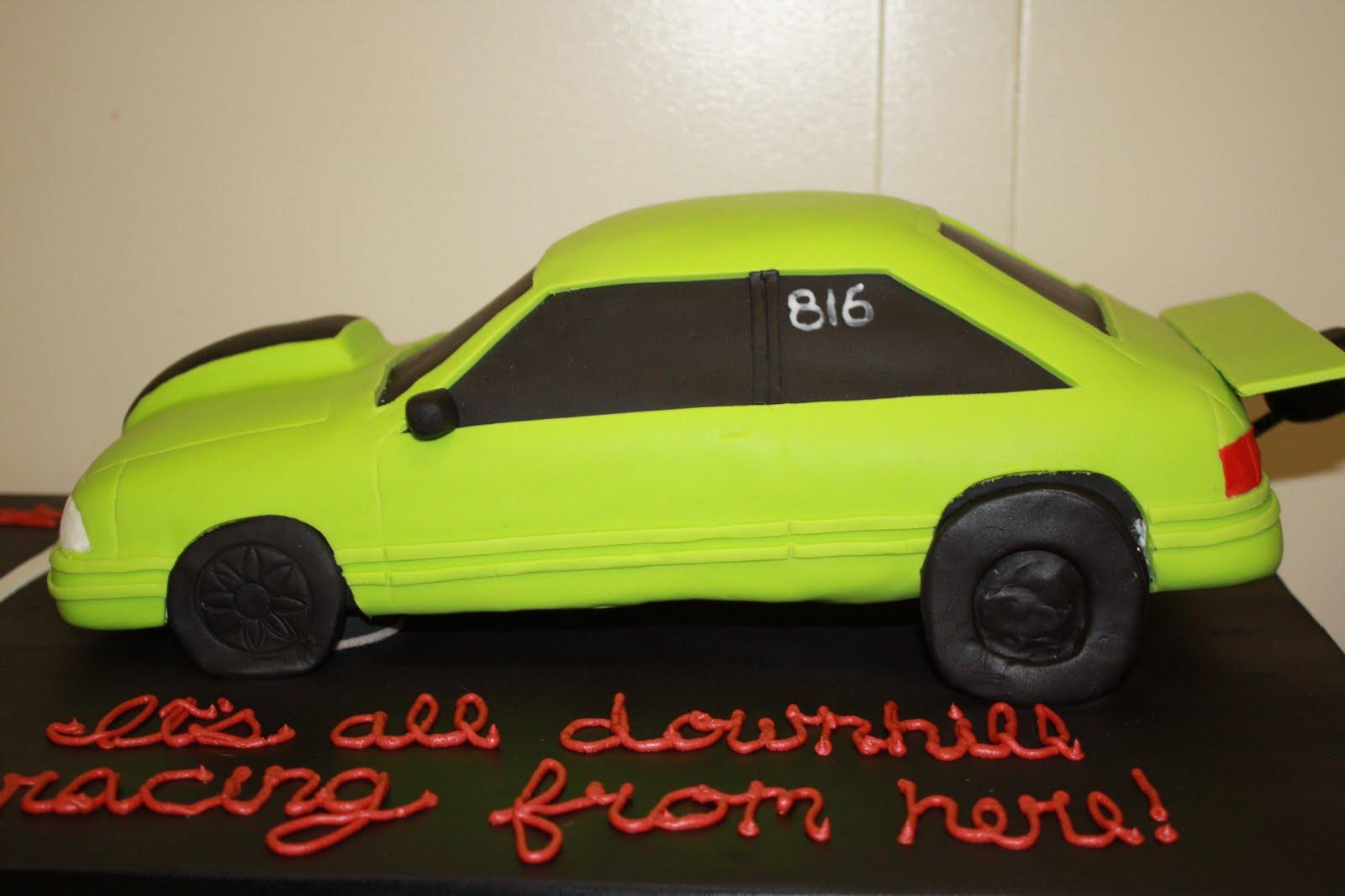 Sweet Eats Cakes Racing 40th Birthday