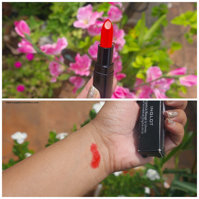 inglot lipstick shades for indian skin