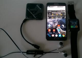 Vendo Samsung Galaxy Note 3 Neo + Smartwatch U8 + 2 cover + cuffie bluetooth + HUB OTG