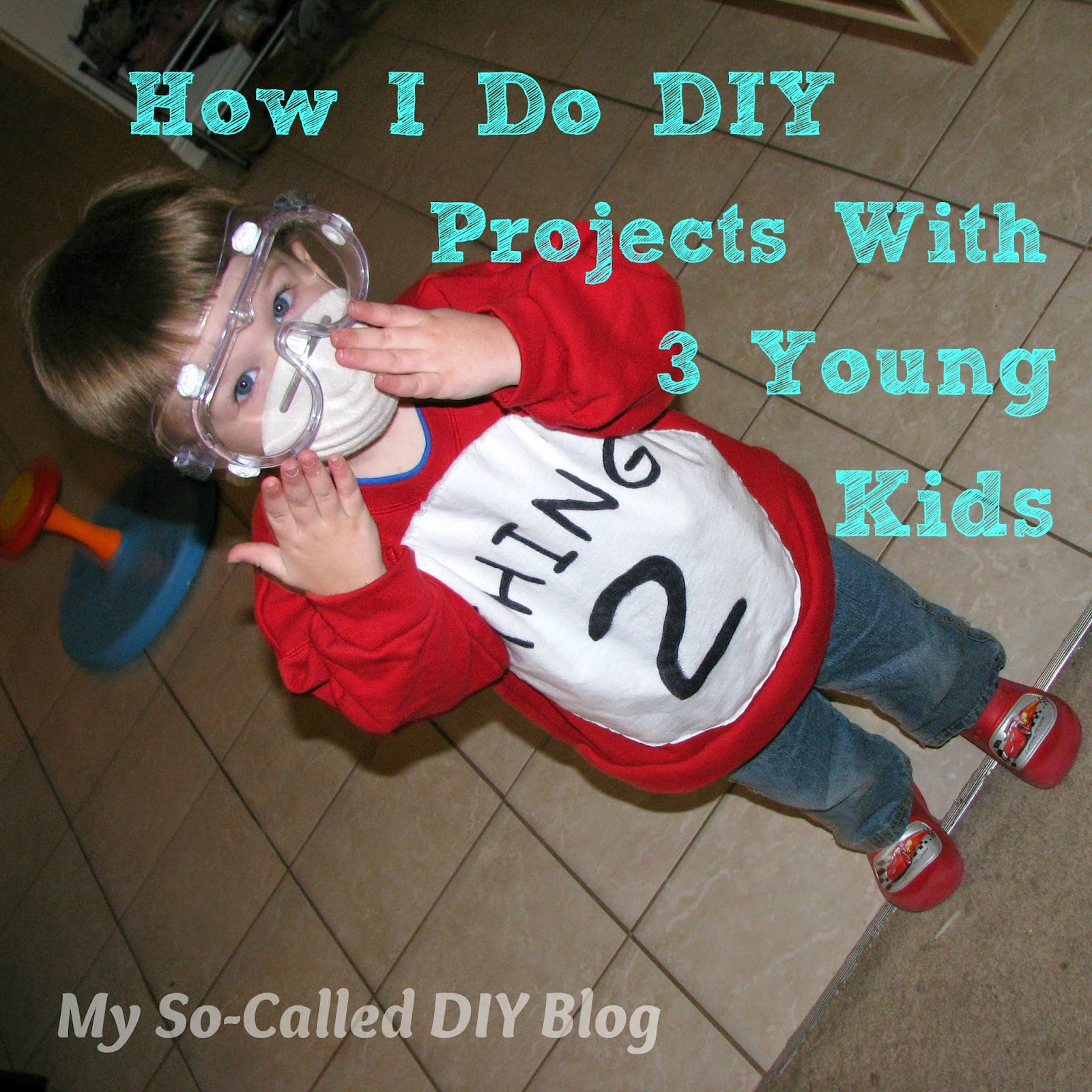Already Did It Diy Crafts: My So-Called DIY Blog: How I Do DIY Projects With Three
