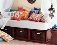 Hoy quiero almohadones for Decoracion estilo hindu