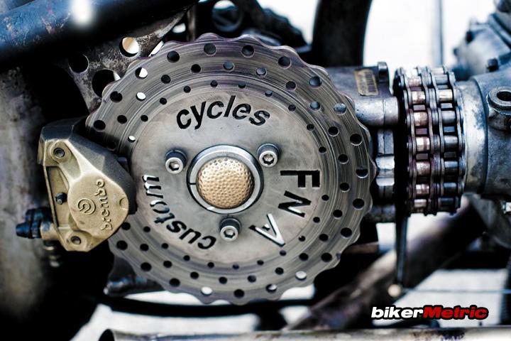 raw r75/5 bobber - custom brake detail | fna custom cycles