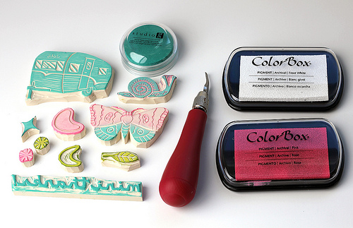 DIY Hand Carved Stamps - How to Make Handmade Stamps