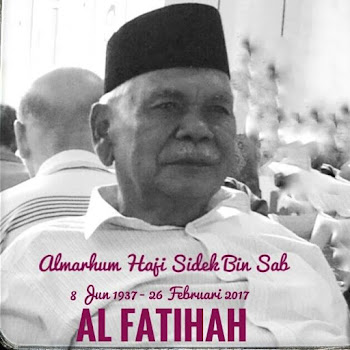 In Living Memory of Abah...