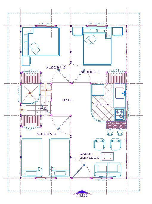 Planos de casas modelos y dise os de casas planos de for Planos para construccion de casas